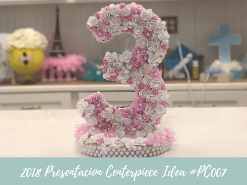 (NEW) 2018 - Presenacion Centerpiece Idea #BDC001