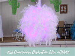 (NEW) 2018 - Quinceanera Decoration Idea #QC001