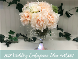 (NEW) 2018 - Wedding Centerpiece Idea #WC002