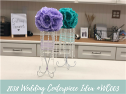 (NEW) 2018 - Wedding Centerpiece Idea #WC003