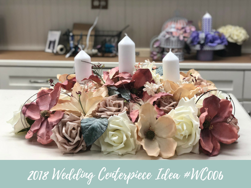 (NEW) 2018 - Wedding Centerpiece Idea #WC006