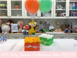 (NEW) 2019 - Baby Shower Centerpiece Idea #BSC001