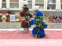 (NEW) 2019 - Wedding Centerpiece Idea #WC001