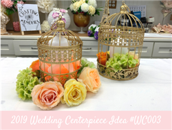 (NEW) 2019 - Wedding Centerpiece Idea #WC003