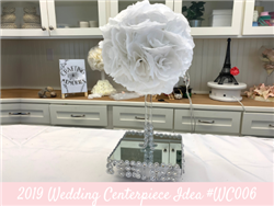 (NEW) 2019 - Wedding Centerpiece Idea #WC006