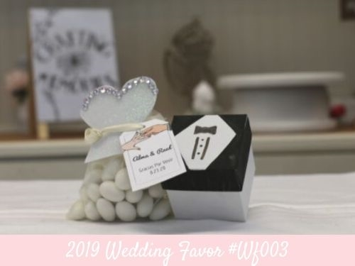 (NEW) 2019 - Wedding Party Favor Idea #WF003