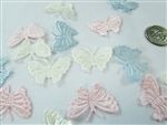 CLEARANCE - Miniature Satin Butterfly Charms #2 (144)