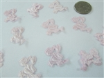 CLEARANCE - Miniature Satin Baby Stork Charms (144)
