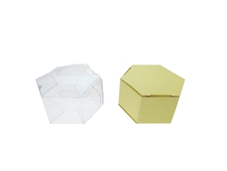 "CLEARANCE - 2"" FAVOR BOX #5502 (12 Pcs)"