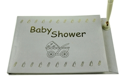 Libro de Invitados Baby Shower con Pluma - Ingles (1)