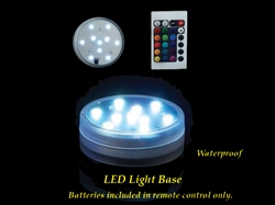 "2.75"" Base de Luces LED Varios Color y Función Multi- Impermeable (1)"