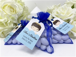 Personalized Baptism Favor Tags (24)