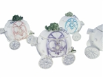 "CLEARANCE - 2.75"" Cinderella Coach Keepsake Favor Box (12)"