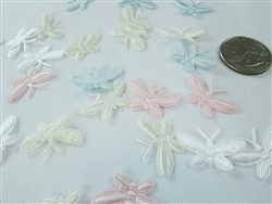 CLEARANCE - Miniature Satin Butterfly Charms #1 (144)