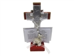 "4.25"" Wooden Cross Favor - Bautizo (12)"