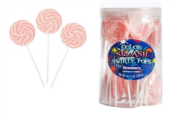 Lollipops - Color Splash Swirly Pops (24pcs)