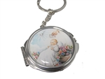 Compact Mirror KEYCHAIN Favors - Baptism Design (12)
