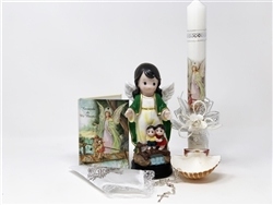 Set #3678 para Bautizo Angel de la Guarda Nightlight (1)