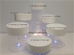 Multi Tier Wedding Cake Stand with LED Lights - 6 Tier