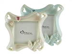 "CLEARANCE - 3.75"" Baby Bottle Picture Frame  Favor (12)"
