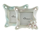 "CLEARANCE - 3.75"" Teddy Bear Picture Frame Favor (12)"