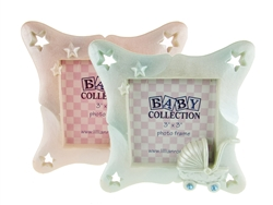 "CLEARANCE - 3.75"" Baby Carriage Picture Frame Favor (12)"