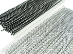 "1/4"" Rollo de Perla con Diamantes (20 Yds)"