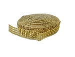 "1/4"" Rollo de Perla con Diamantes (10 Yds)"