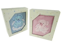 CLEARANCE - Baby Shower Photo Album Keepsake - Teddy Bears (1)