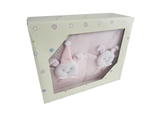 CLEARANCE - Baby Shower Photo Album Keepsake - Bunny (1)
