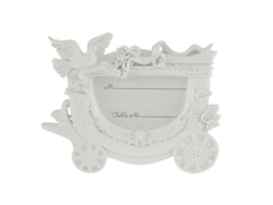 "CLEARANCE - 4.75"" Dove & Carriage Picture Frame Favor (12)"
