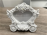 "CLEARANCE - 4.25"" Coach Picture Frame / Place Card Holder Favor (12)"