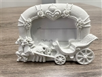 "CLEARANCE - 5"" Open Carriage Picture Frame Favor (12)"