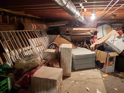 Crawl Space Cleanout Service