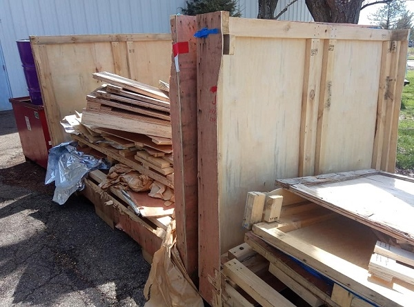Pallet & Crate Removal & Disposal - Cincinnati, Dayton