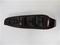 2000 to 2004 Legacy and Outback LH Driver Master Window Switch and Bezel