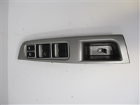 2008 to 2014 Impreza WRX STI Forester LH Driver Master Window Switch and Bezel