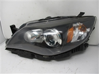 2008 To 2014 Subaru Impreza WRX LH Driver Headlight 84001FG251