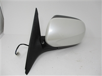 2009 to 2010 Forester LH Driver Side View Mirror White 91029SC070