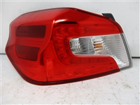 2015 to 2018 WRX STI Sedan LH Driver Taillight 84912VA030