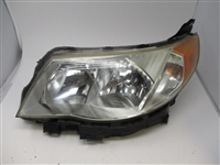 2009 to 2013 Subaru Forester RH Passenger Headlamp Assembly  84001SC061