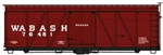 ACU1161 Accurail Inc HO 36'Fowler Wd BC Wabash 112-1161