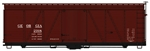 Accurail 1163 HO Fowler 36' Wood Boxcar Kit Georgia Railroad 2918 112-1163