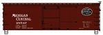 Accurail 1308 HO 36' Wood Boxcar Fishbelly  MCRY 112-1308 ACU1308