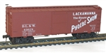 ACU1404 Accurail Inc HO 36' Wd Box Strt DL&W 112-1404