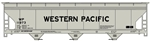 Accurail 2111 HO 3-Bay ACF Covered Hopperper WP 112-2111
