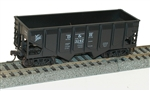 Accurail 28081 HO 55-Ton Panel Side Twin Hopper D&H 112-28081 ACU28081