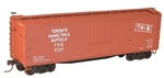ACU4740 Accurail Inc HO 40' Wood Stock Car SOO 112-4740