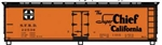 ACU48143 Accurail Inc HO 40' Wd. Reefer Super Chie 112-48143