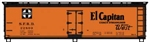 Accurail 48173 HO 40' Wood Reefer El Captain 112-48173 ACU48173
